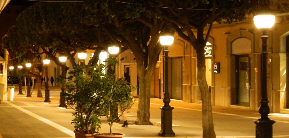 Illuminazione pubblica a led e arredo urbano elux for Illuminazione arredo urbano